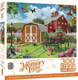Memory Lane - Barnyard Beauties - Large 300 Piece Ezgrip Jigsaw Puzzle by Alan Giana