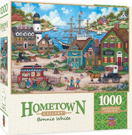 Hometown Gallery the Young Patriots - 1000 Piece Jigsaw Puzzle