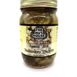 NH Sweet Hot Habanero Pickles 15 oz
