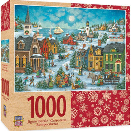 Holiday Harbor Side Carolers -  1000 Piece Puzzle