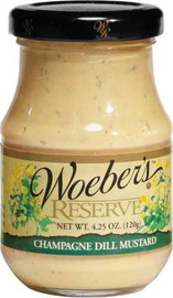 Woeber's Champagne Dill Mustard