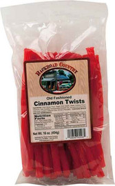 Cinnamon flavored twists have zing and please the sweet tooth.
