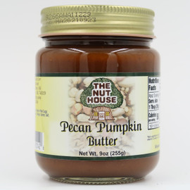 Ripe pumpkin, premium pecans and classic spices give this spread its prize-winning flavor.
