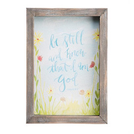 Take a second to be still with this Psalm 46:10 watercolor!