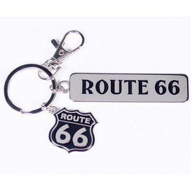 Get Your Kicks With This Route 66 Highway Road Sign Keychain.