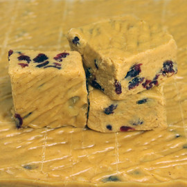 "<p>A delicious blend of Pumpkin Fudge made with real pumpkin and tart dried cranberries. Perfect for the holidays!</p> <p>We ship Nationwide!</p> <div id=""stcpDiv""><strong>Each pound is cut into 4 thick 1/4 pound squares. That's a lotta fudge!!</strong></div> <div><strong></strong></div> <div><strong><span>PLEASE ACKNOWLEDGE: </span>Some fudge can take 72 hours to ship if not already made. Call for availability. 918-266-1604</strong></div>"