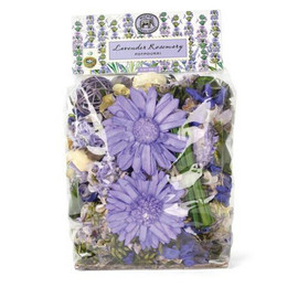 The scent of our Potpourri will grace any room in the house. The ingredients are natural. The look is dramatic.