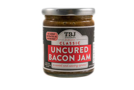 flagship bacon spread bursting with sweet and savory bacon goodness, this flavor pairs well with foods at any meal. Go traditional and try it on a burger or with breakfast foods, or take party appetizers like crackers with goat cheese or brie from ordinary to exceptional.