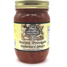 Roasted Pineapple habanero sauce from the Nut House