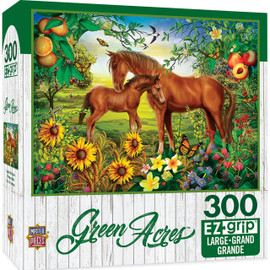 Neighs and Nuzzles Green Acres Puzzle 300