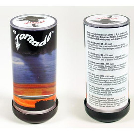 """Spin the Pet Tornado clockwise and watch a mini tornado form before your eyes. The vortex forms and fades just like a real tornado. Measures approximately 4.5"""" x 2"""" (11.5 x 4.5 cm)."""