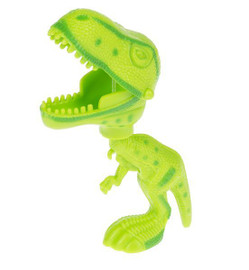 Reach out and touch someone with this dino-grabber! Fun to chomp little brothers and toys alike.