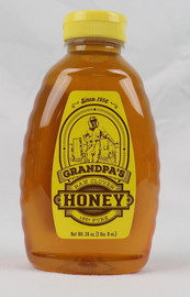 Grand Pa's Raw Clover Honey 24 oz. Made in Oklahoma!