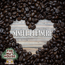 <p><span>Sinful Pleasure flavored coffee beans: maple and caramel. Available in decaf!</span></p>