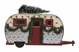 On/off switch. Light Up Christmas Tree Camper Batteries not included
