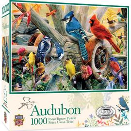 Audubon Backyard Birds 1000 Piece Jigsaw Puzzle