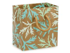 "Coastal Paradise Gloss Gift Bags, Petite 4x2.5x4"""