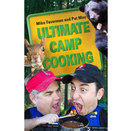This AUTOGRAPHED Abbott and Costello of outdoor cooking presents an affordable, portable, entertaining, and indispensable cookbook for campers, travelers, and anyone who wants to capture a little bit of the outdoor lifestyle wherever they go. What started as two stand-up comedians using their comedic and cooking talents to produce a DVD has grown into Ultimate Camp Cooking, a franchise that boasts several DVDs, a traveling road show, and now the ultimate cookbook for outdoor enthusiasts. Inside this portable, durable flexibound book, outdoor cooks will find more than 80 tasty dishes that can either be grilled over an open flame or cooked over a campfire in a Dutch oven. Faverman and Mac travel the United States to meet people and teach them how to make gourmet-quality dishes right at their campsites. Each delicious recipe is easily prepared using familiar, flavorful ingredients and basic cooking techniques, and the results are fantastic! Also included are full-color photographs for most dishes, as well as hilarious stories and handy tips and tricks from the Ultimate Camp Cooking pros. Tired of hot dogs and granola bars? Instead, consider recipes such as Dutch Oven Benedict, Blue Cheese Meatballs, and S'more Pies. Ultimate Camp Cooking has those and many other amazing and satisfying meals--all cooked campside with little fuss, but a whole lot of flavor. The Abbott and Costello of outdoor cooking present an affordable, portable, entertaining, and indispensable cookbook for campers, travelers, and anyone who wants to capture a little bit of the outdoor lifestyle wherever they go. What started as two stand-up comedians using their comedic and cooking talents to produce a DVD has grown into Ultimate Camp Cooking, a franchise that boasts several DVDs, a traveling road show, and now the ultimate cookbook for outdoor enthusiasts. Inside this portable, durable flexibound book, outdoor cooks will find more than 80 tasty dishes that can either be grilled over an open flame or 