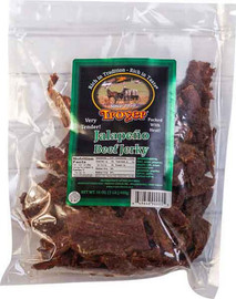 1 lb package of Beef Jalapeno Jerky