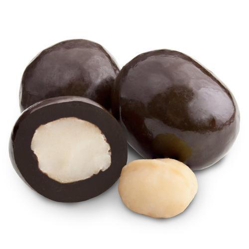 Dark Chocolate Macadamia Nuts 10 oz