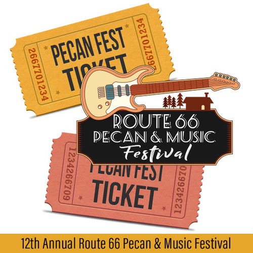 Route 66 Pecan and Music Festival Event Tickets