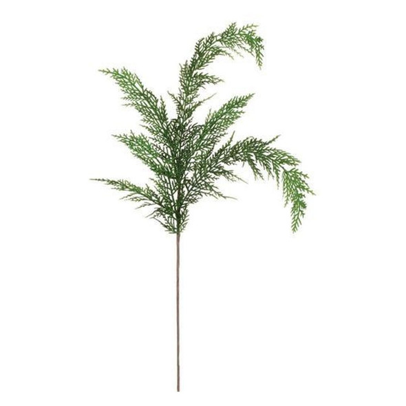 """Simple, yet elegant, the cypress is a lightweight airy addition that can make a room Christmas-ready in moments. Merging the magnificent features found in nature with the craftsmanship and quality synonymous with Sullivans, this refined classic is a seasonal must-have! Dimensions:13""""L x3""""W x28""""H Weight:1.90oz"""
