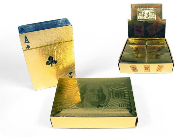 Gold Playing Cards Games The Nut House