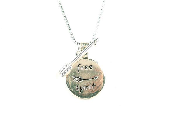 Free Spirit Copper Colored Necklace