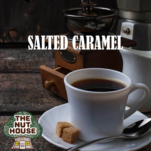 <p>Salted Caramel flavored coffee beans: this sweet and salty flavored creation is a surprisingly tasty combination.</p>
