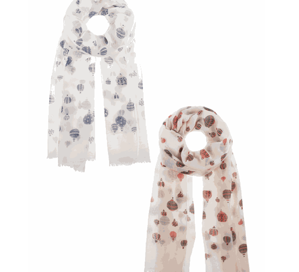 Balloon Scarf Scarves & Shawls The Nut House