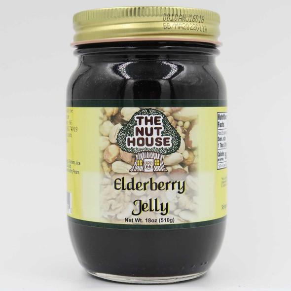 Nut House Elderberry Jelly 18 oz Jams and Jellies The Nut House