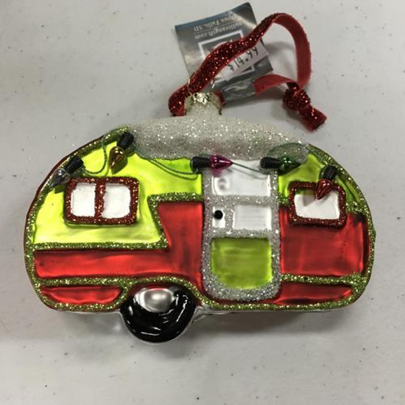 Ornament, Camper With Lights
