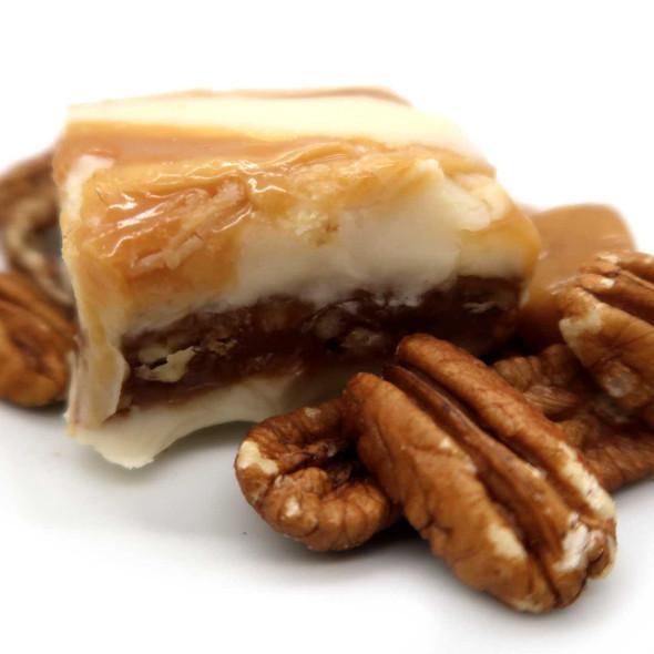 Chewy Praline Fudge - 1 lb. Homemade Fudge The Nut House