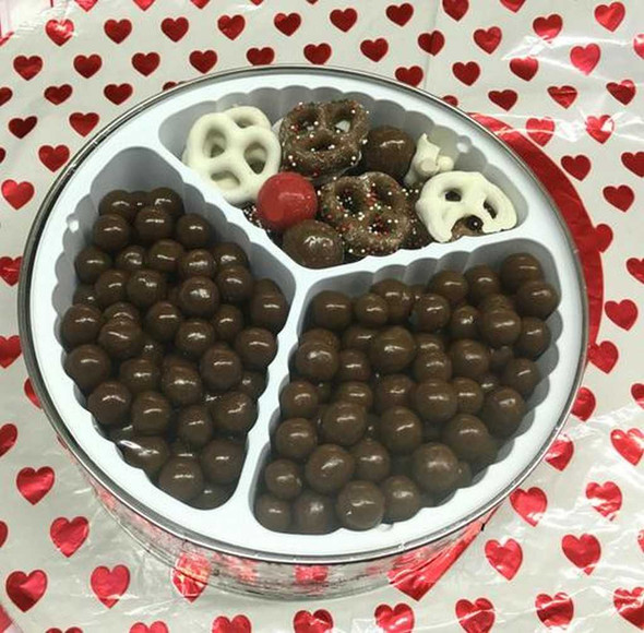 Be My Valentine Gift Tin Gift Tins The Nut House