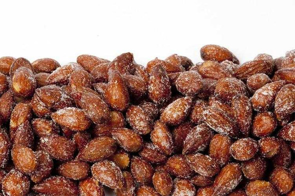 Honey Roasted Almonds 10 oz Covered Nuts The Nut House