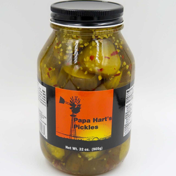 Papa Hart's Pickles Pickles & Relish The Nut House