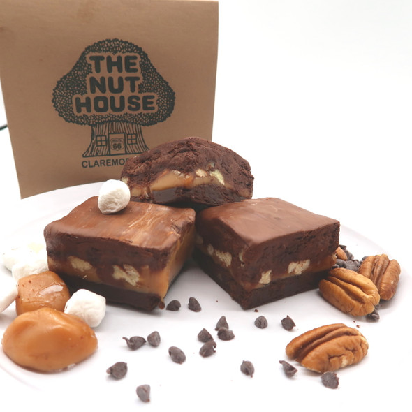 Gooey Cluster Fudge From The Nut House