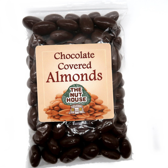 Chocolate Covered Almonds 12 oz Candied Almonds The Nut House
