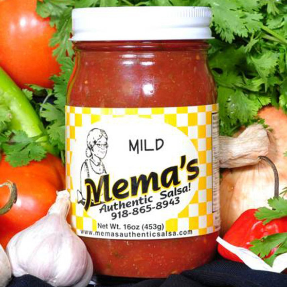 Mema's Mild Salsa