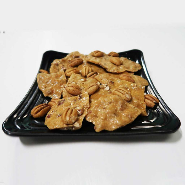 Ol' Fashioned Pecan Brittle 8 or 16 Ounces Brittles The Nut House