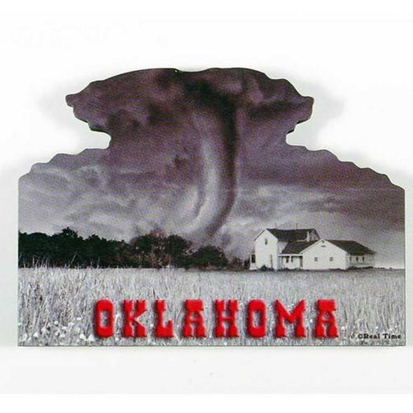 OK Tornado Scene Magnet Magnets The Nut House
