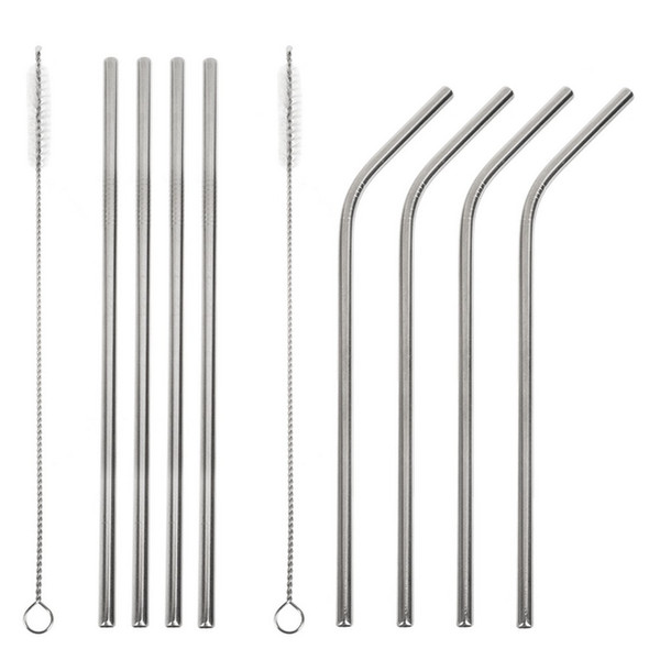 5 piece set includes: 4 straws + 1 brush cleaner