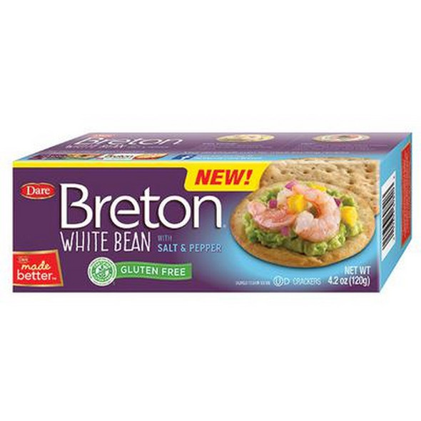 Enjoy the tender, crisp texture and delicious taste of Breton Artisanal. 4.2 oz