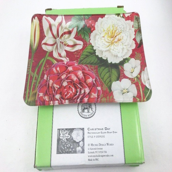 Christmas Time Floral Soap Dish