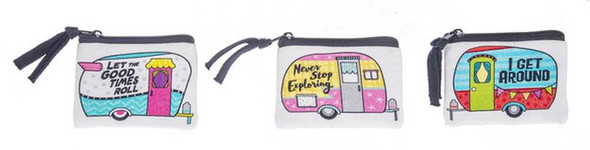 Happy Camper Coin Bags Purses Totes and Bags The Nut House