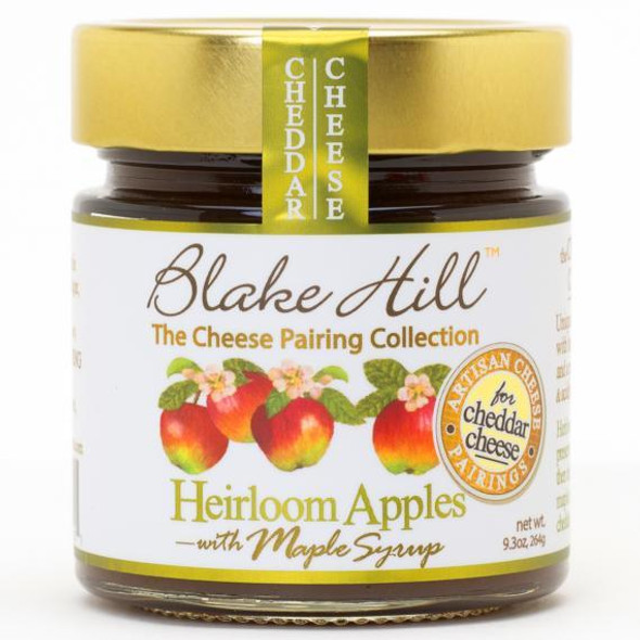 Artisan fruit butter made with fresh Vermont Heirloom Apples. This is a traditional fresh apple butter cooked all day with Vermont maple syrup, simply perfect with a classic cheddar cheese. Naturally preserving the taste of Vermont NON GMO.     KOSHER.     PERFECT CHEESE PAIRINGS.