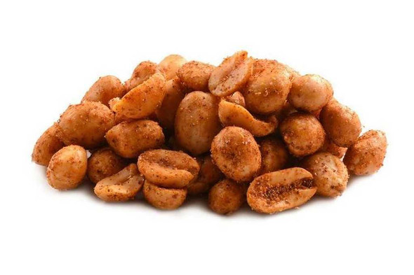 Hot and Spicy Cajun Peanuts 12 oz Salted & Spiced Peanuts The Nut House
