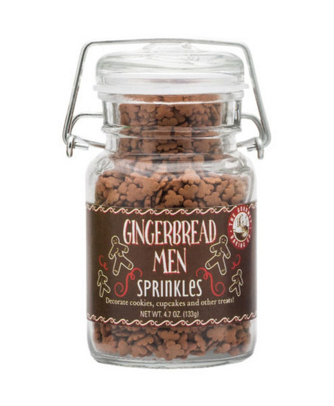 Gingerbread Sprinkles will make any of your Holiday Baked Goods vibrant with Holiday Cheer!