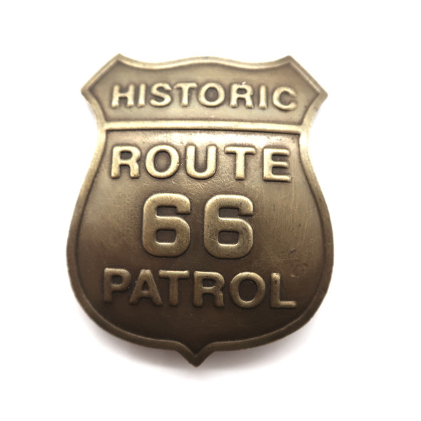 Route 66 Patrol Badge
