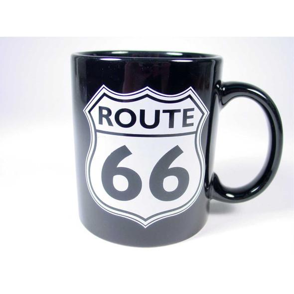 Route 66 Black Mug Mugs & Cups The Nut House